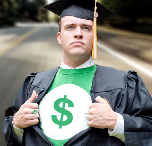college student mastering money